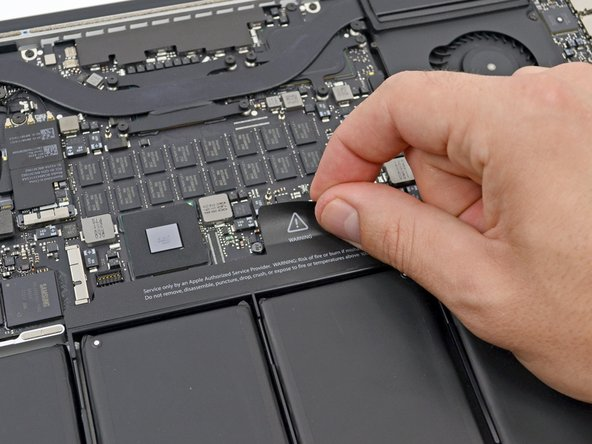 "MacBook Pro 15"" Retina Display Mid 2012 Battery Connector Replacement"