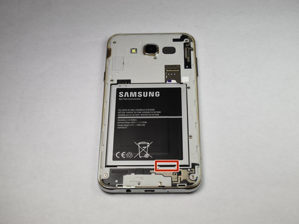 Reemplazo de la batería del Samsung Galaxy J7