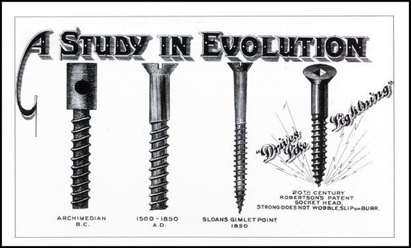 A Study in evolution of the Robertson Screwdriver