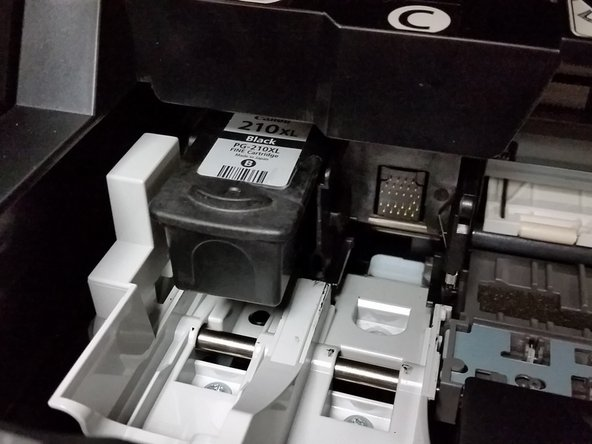 Image 1/3: Before replacing the ink cartridge ensure the correct ink cartridge is installed.