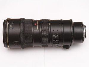 Solve stuck focus of AF-S VR Zoom-Nikkor ED 70-200mm f2.8G IF
