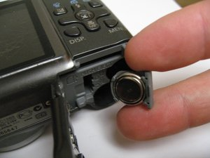 Canon PowerShot A590 IS Clock Battery Replacement