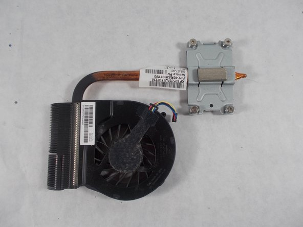 HP Pavilion G7-2289wm Fan and Heat Sink Replacement