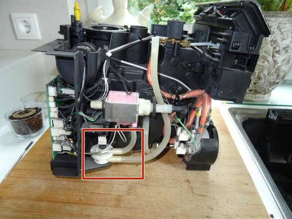 Saeco Minuto Flowmeter tauschen