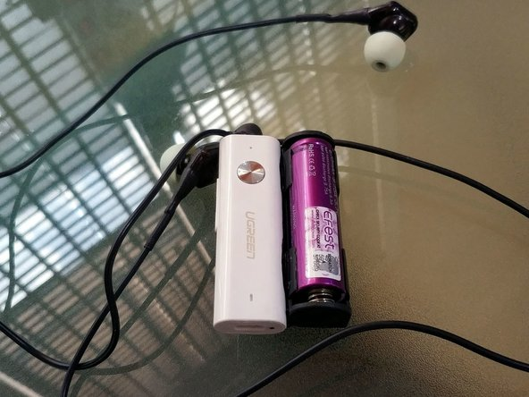 Ugreen AptX Bluetooth Receiver Battery Upgrade