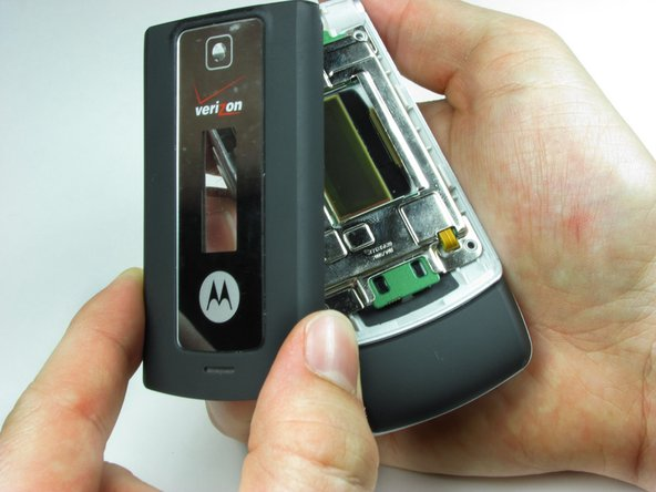 If the casing has not popped off of the body, remove it carefully from the the phone.