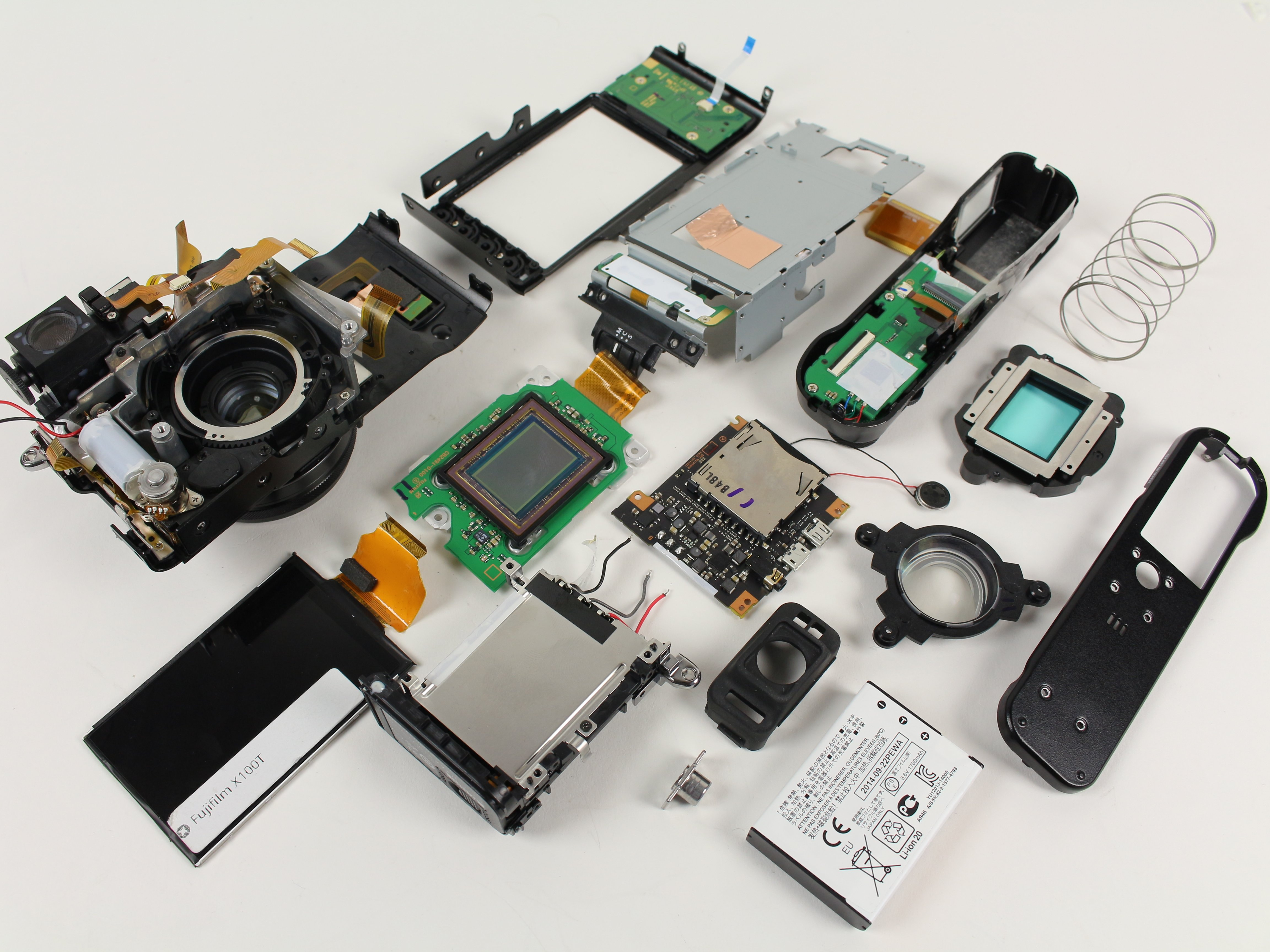 Fujifilm X100T Disassembly - iFixit Repair Guide