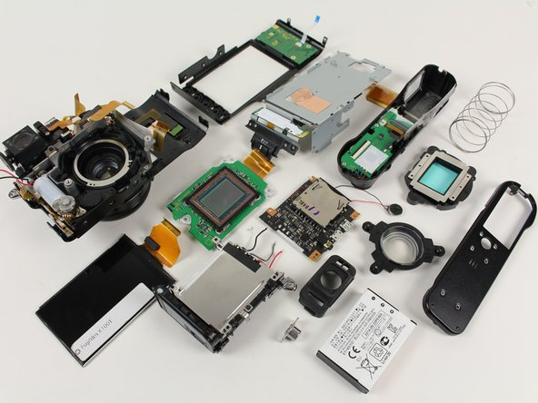 Fujifilm X100T Disassembly