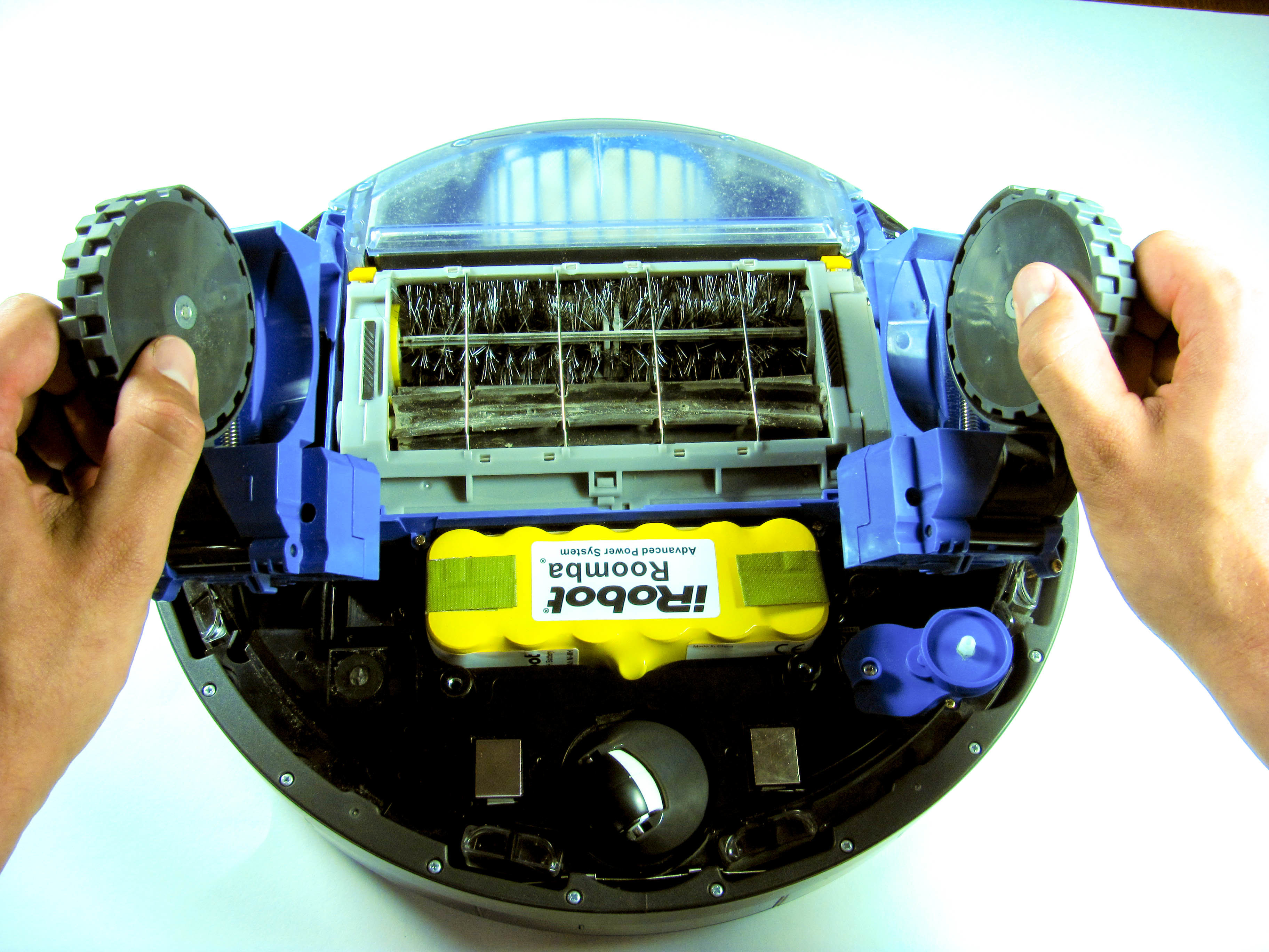 Irobot Roomba 650 Main Wheel Replacement Ifixit Repair Guide