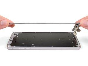 Reemplazo de la pantalla LG G6.