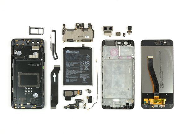 The Huawei P10 earns a 6 out of 10 on our repairability scale (10 is the easiest to repair):