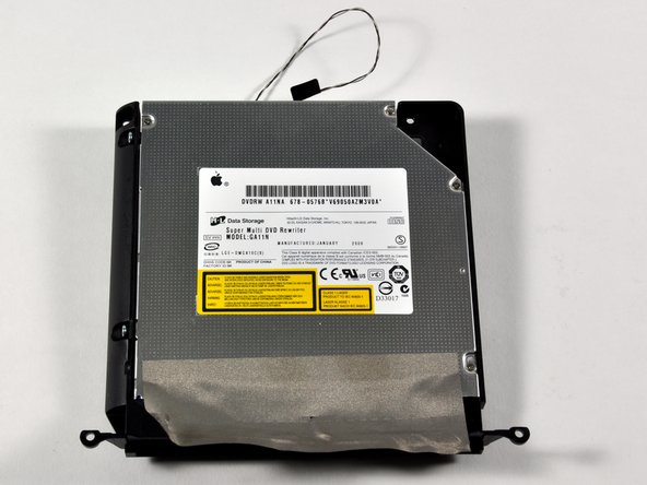 This is a 12.7mm SATA 8x double-layer SuperDrive.