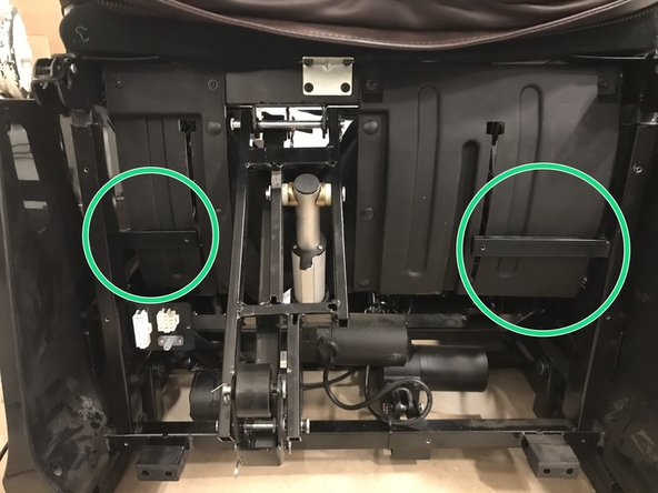 When installing the front cover be sure the top portion is done first . Additionally it needs to be behind the brackets marked here. SEE STEP 3