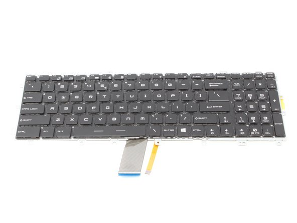 MSI GE72 6QF Apache Pro Keyboard Replacement