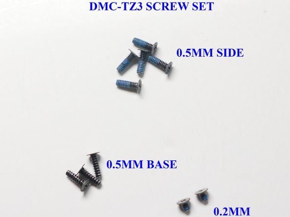 Image 1/1: Make sure you organize your screws to make re-assembly easier.