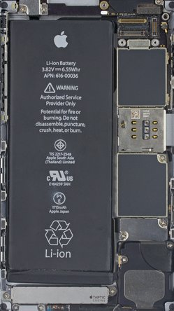 iPhone 6s internals wallpaper