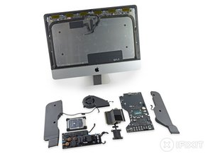 "iMac Intel 21.5"" EMC 2889 Teardown"