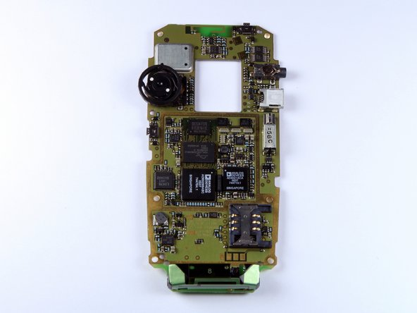 BlackBerry 7100g Motherboard Replacement