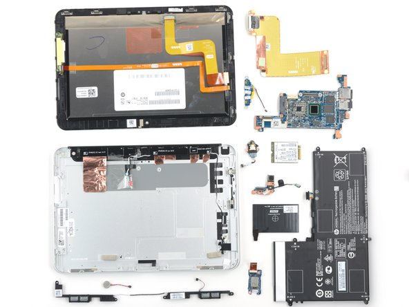 HP ElitePad 1000 G2 Repairability Assessment
