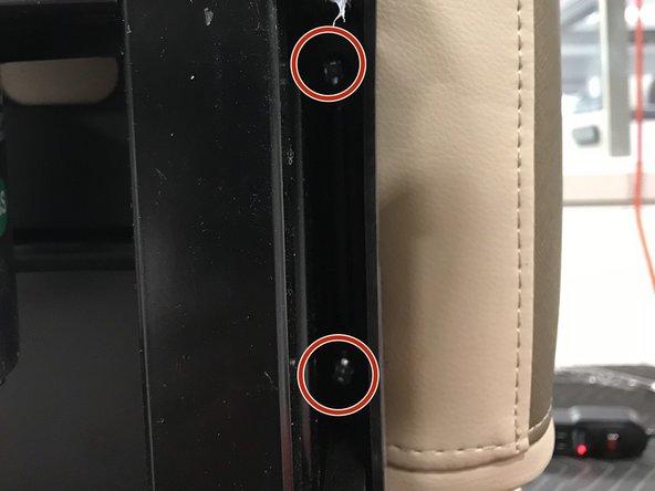 Remove all 4 bolts
