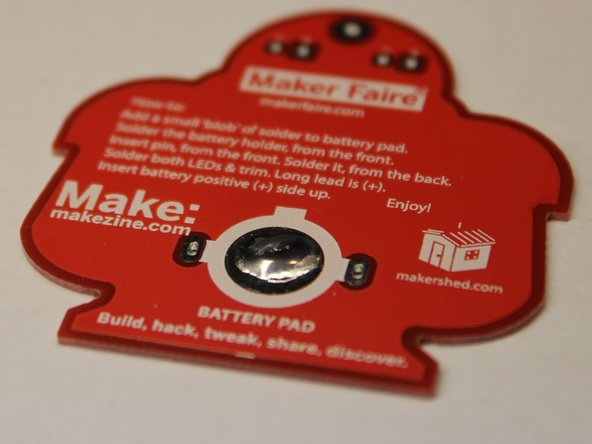 If solder does not flow immediately when it comes in contact with the pad, remove it and allow the pad to heat up longer.