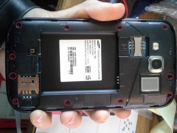 Before starting, you need to remove the back case, the battery, SIM card and Micro SD Card.