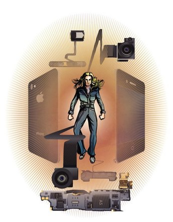 Bionic Woman iPhone repair