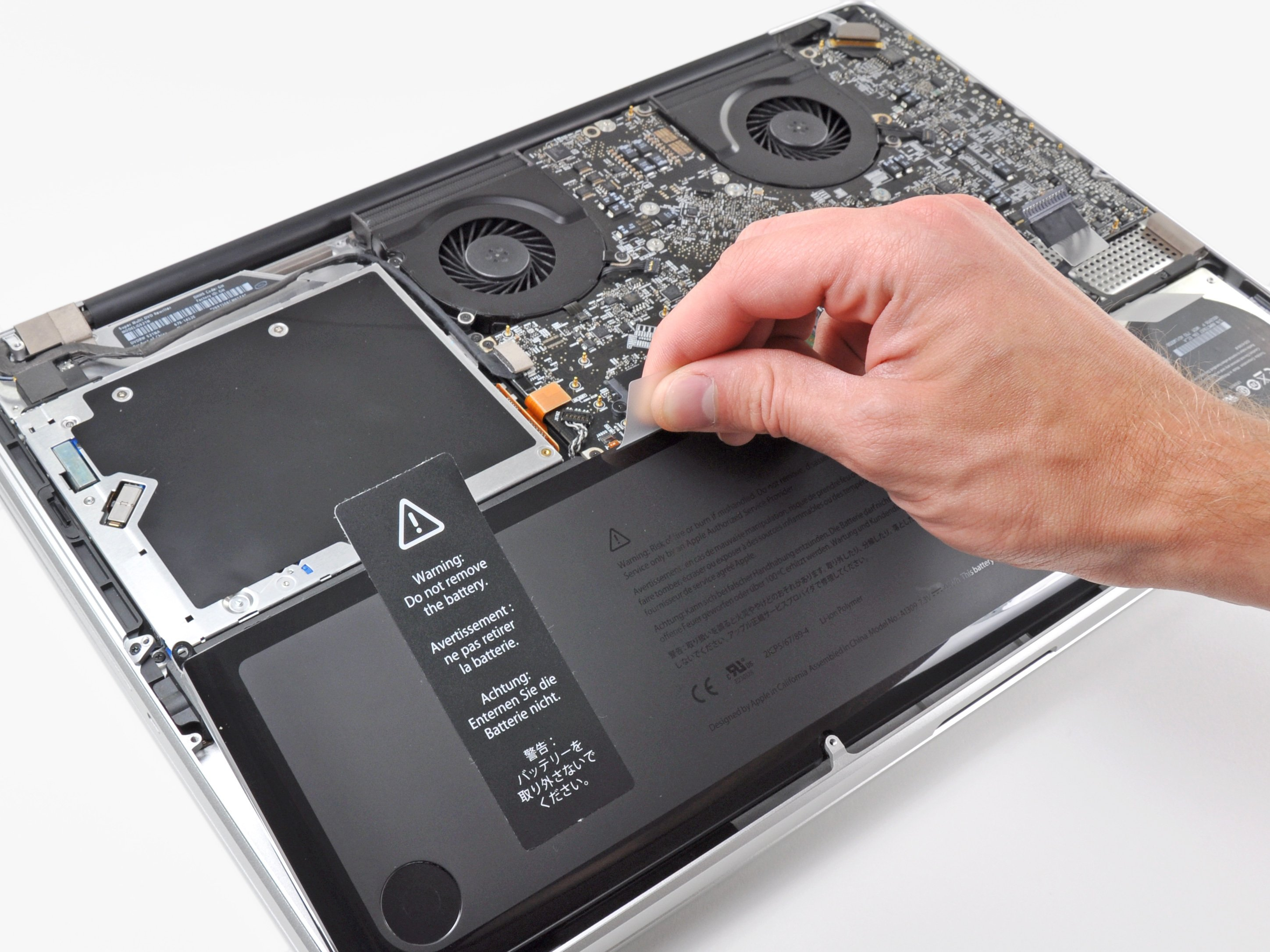 "MacBook Pro 1"" Unibody Battery Replacement - iFixit Repair Guide"