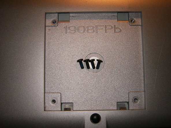 The four (4) screws are M3x10 machine screws