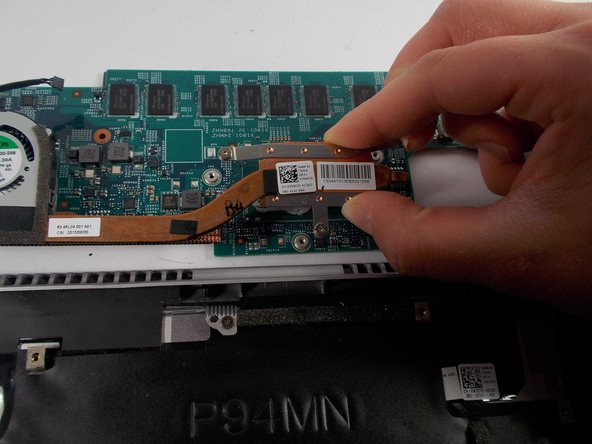 Remove the Thermal-Cooling Assembly from the motherboard.