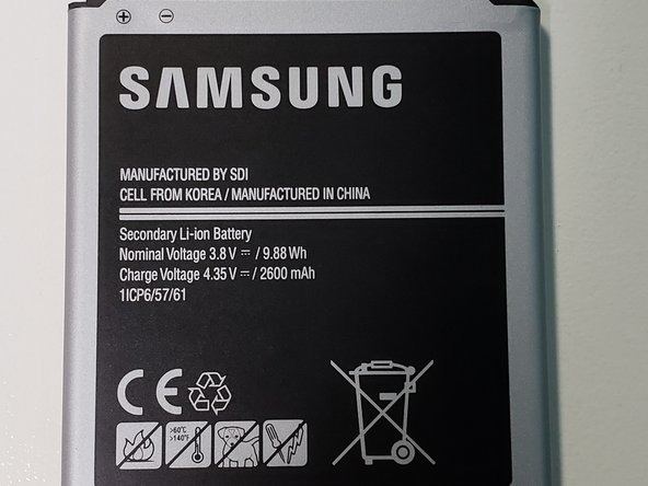Imagen Principal de 2100mAh Cell Phone Battery