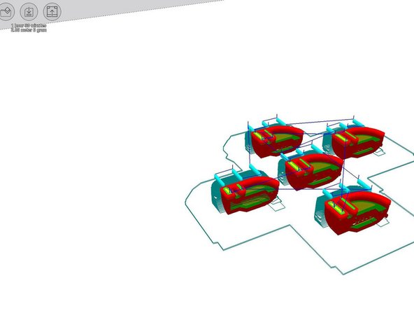 Cura also converted the .STL file into a native G code for the  Zortrax 3D printer.