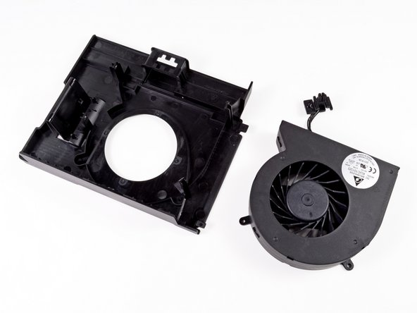 The Delta Electronics KUC1012D 12V fan inside this enclosure appears to have a unique form factor, which means that acquiring replacement parts may be difficult.