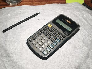 Texas Instruments TI-30Xa Teardown