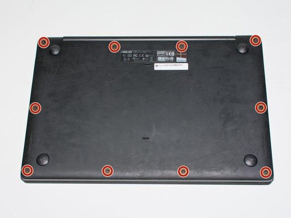 Asus Q501LA-BBI6T03 Back Panel Replacement