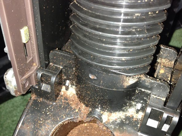 Tamping Assembly Removed - 2