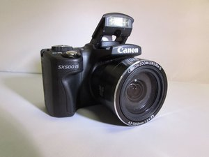 Canon PowerShot SX500 IS Troubleshooting