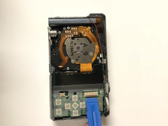 The digitizer cables are held down by retaining flats.