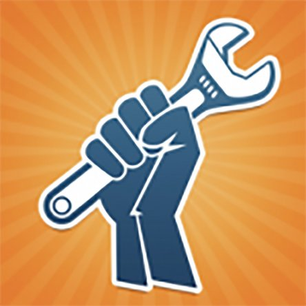 iFixit hand wrench logo