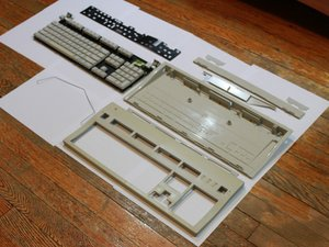 Apple Extended Keyboard II Teardown