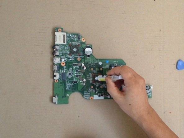 Put a new thermal compound and start with reassembling.