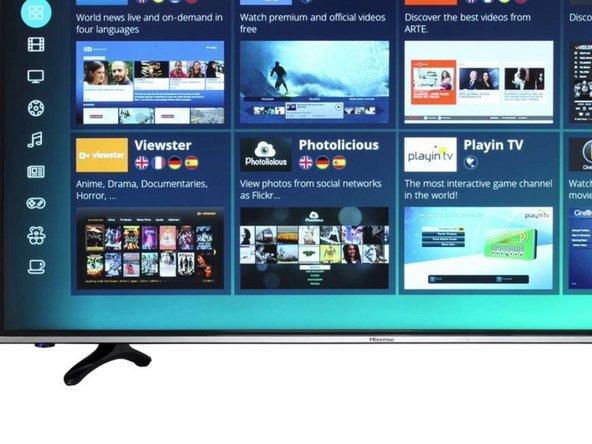 Prüfung und BGA Rework Hisense TV H49MEC3050 123cm