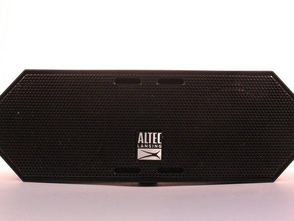 Remove the inner blue rubber housing from the speaker.