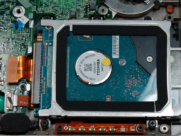 Dell Latitude X300 Hard Drive Replacement