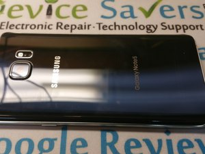 Samsung Galaxy Note5 Teardown