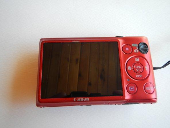 Canon PowerShot ELPH 300HS Back Panel Button Replacement
