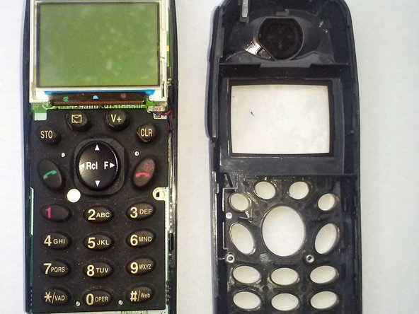 Once you have the phone apart simply remove the key pad and replace it with the new one.