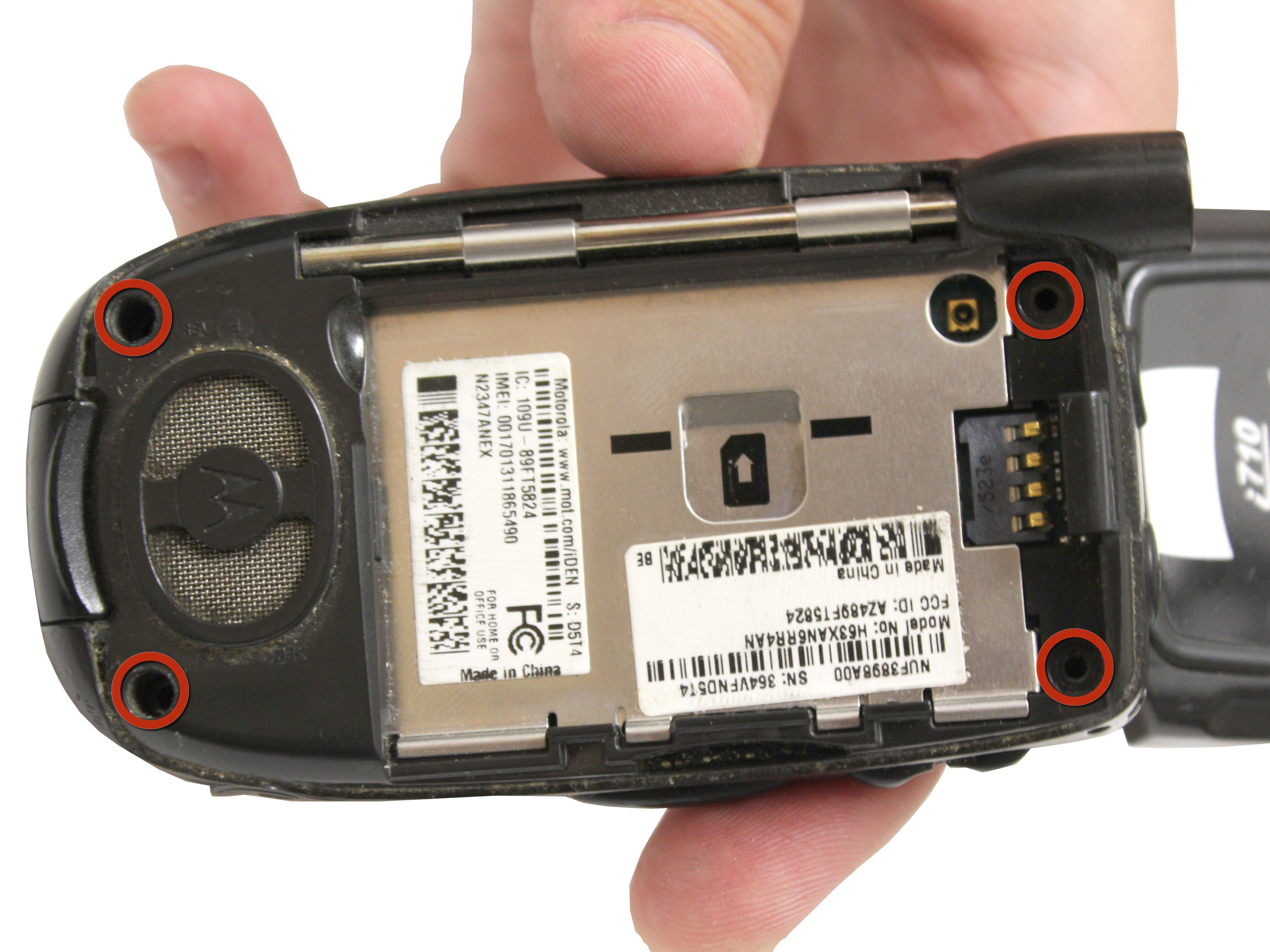 Motorola i710 Back Casing Replacement - iFixit Repair Guide