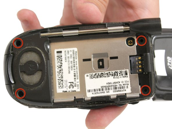 Motorola i710 Back Casing Replacement