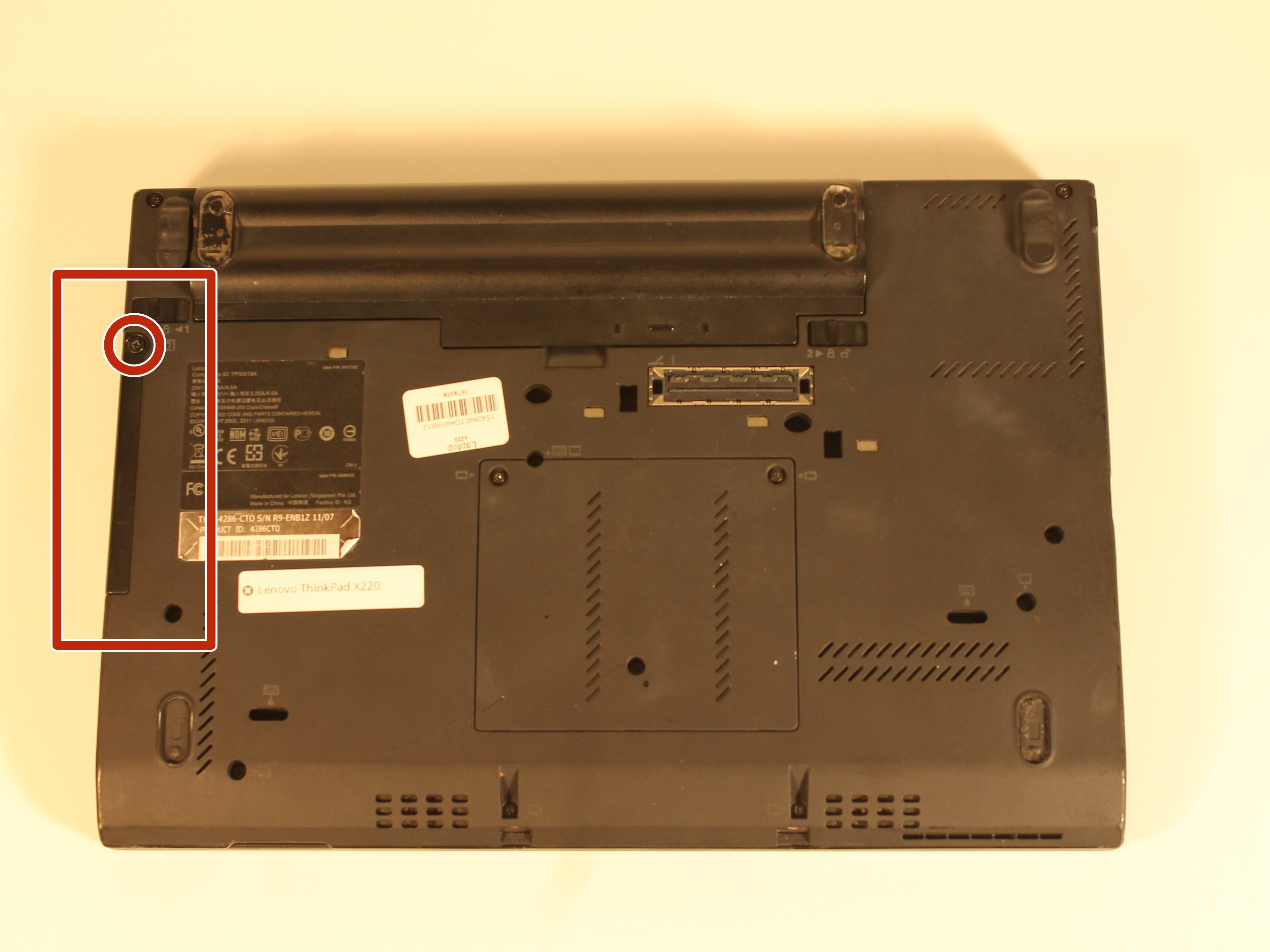 Lenovo Thinkpad X220 Hard Drive Replacement - iFixit Repair Guide